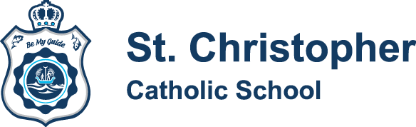 St Christopher Catholic School Logo